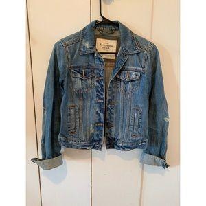 A&F Denim Jacket S